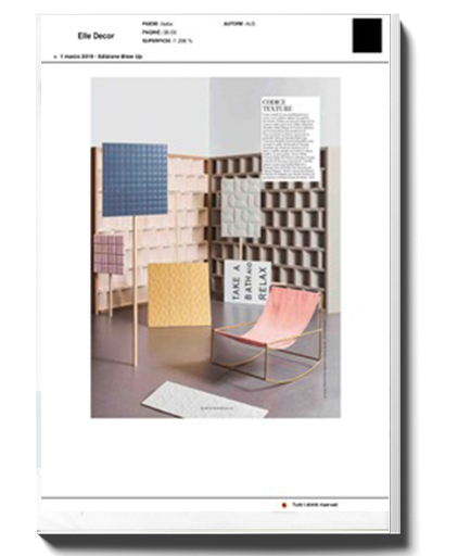 ELLE DECOR/03 2019