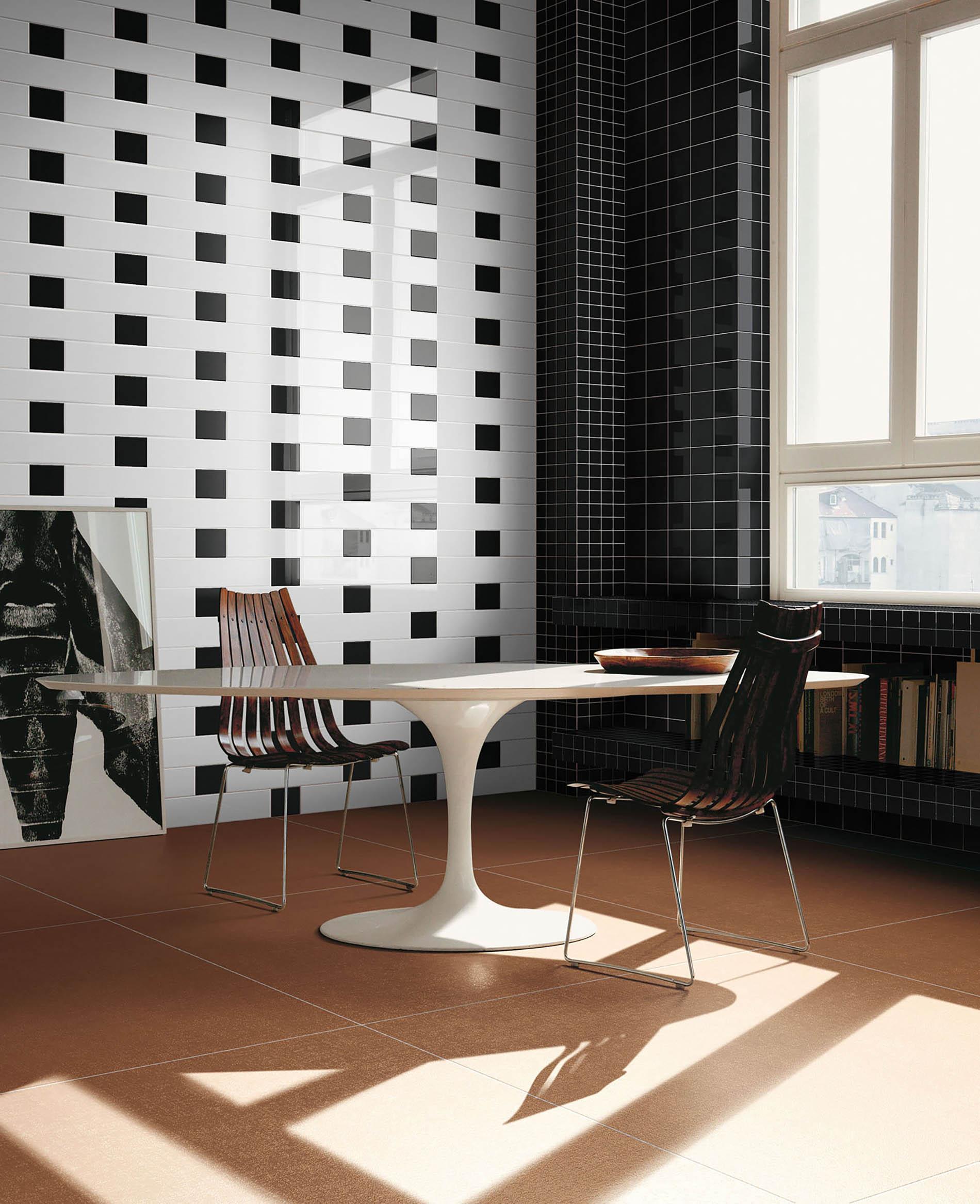 Bianco e nero ceramica bardelli - Piastrelle bianche e nere ...