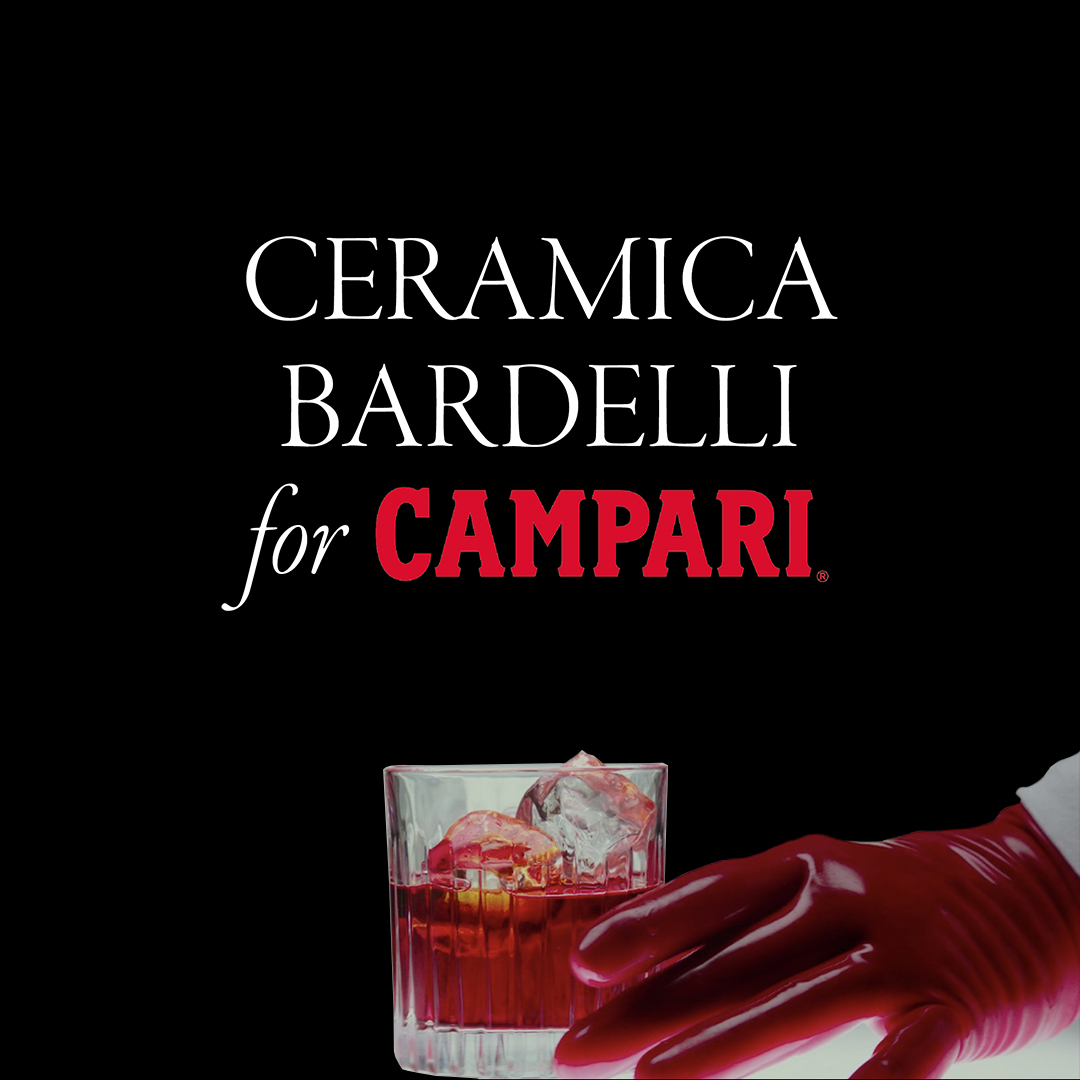 Ceramica Bardelli for Campari