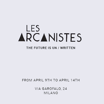 LES ARCANISTES - THE FUTURE IS UN/WRITTEN