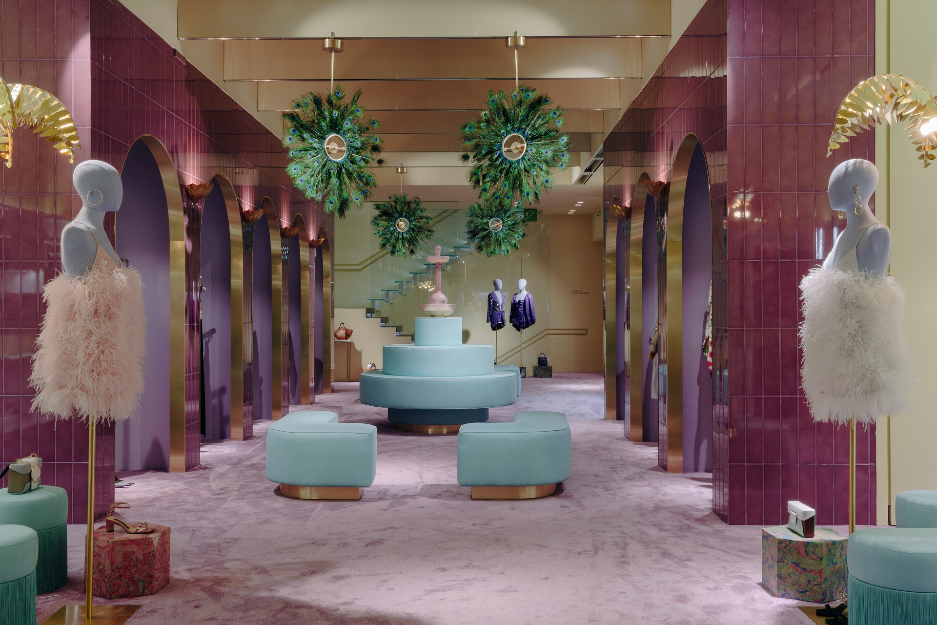 7239bfd8ff Ceramica Bardelli has been chosen by LuisaViaRoma to transform its Florence  store into EDEN, an idyllic and harmonious garden. The interior design was  ...